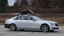 Cadillac CT6 with Super Cruise technology spy photo