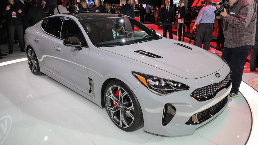 2018 Kia Stinger is a stylish gran turismo with biturbo V6 power