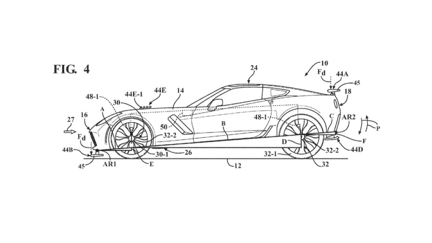 Chevy Corvette Active Aero Tech Shows Up in Patent Filing