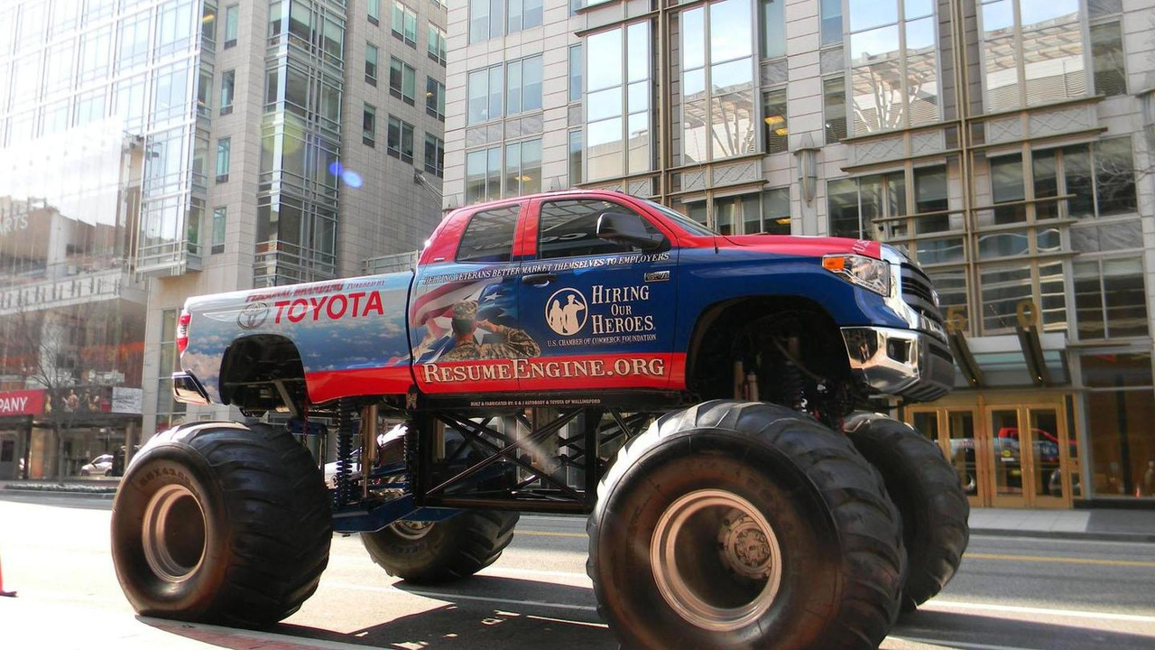 Toyota Tunda Monster Trucks