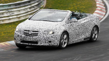 2013 Opel Astra Cabrio spied with top down [video]