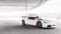 McLaren F1 twin of Bespoke Project 8 12.9.2012