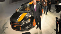 Chevrolet Sonic Z-Spec Concept powers into Detroit [video]