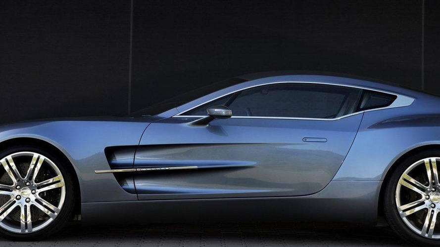 Aston Martin One-77 officially rated at 750bhp