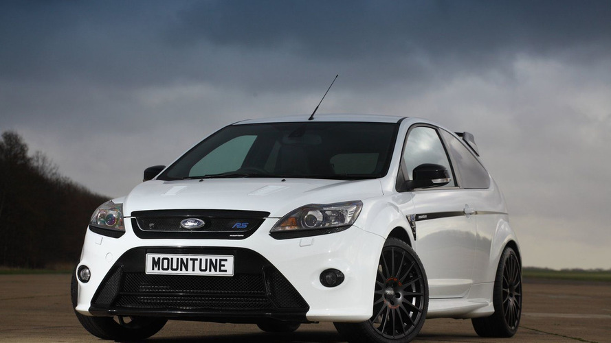 Mountune Focus RS with 350 PS Upgrade Kit Announced - Ford Approved RS500 Power