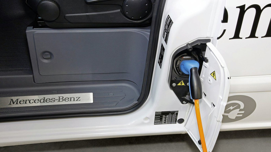Mercedes-Benz Vito Battery Electric Vehicle Starts Production in 2010