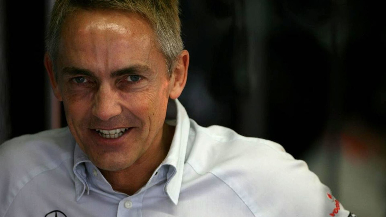 Martin Whitmarsh (GBR), McLaren, Chief Executive Officer, Brazilian Grand Prix, Friday Practice, 16.10.2009 Sao Paulo, Brazil