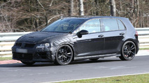 Volkswagen Golf VII R spied testing at Nürburgring