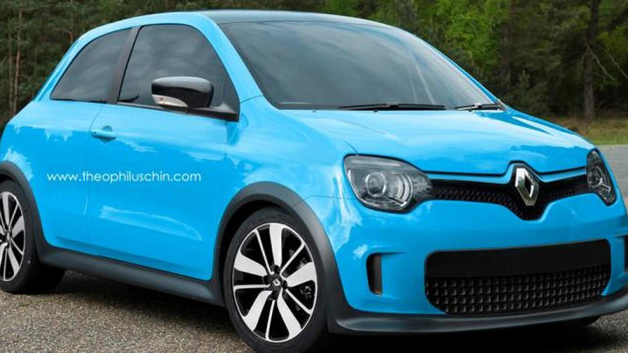 2014 Renault Twingo rendered