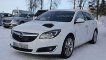 2016 Opel Insignia mule spied for the first time