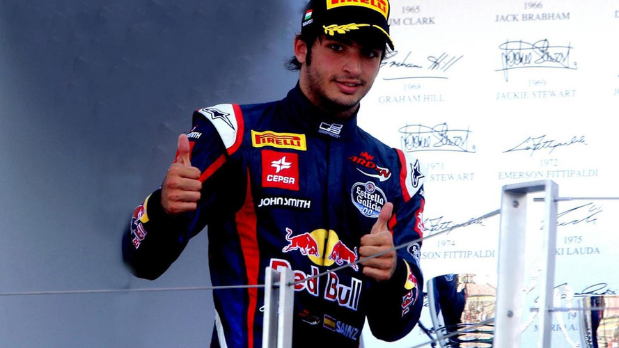 Sainz hopes son on road to F1