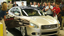 New Nissan Maxima Production Started