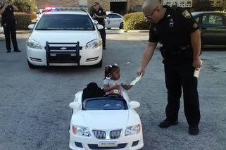 Florida Police Give the Most Adorable Ticket to a 2-Year-Old