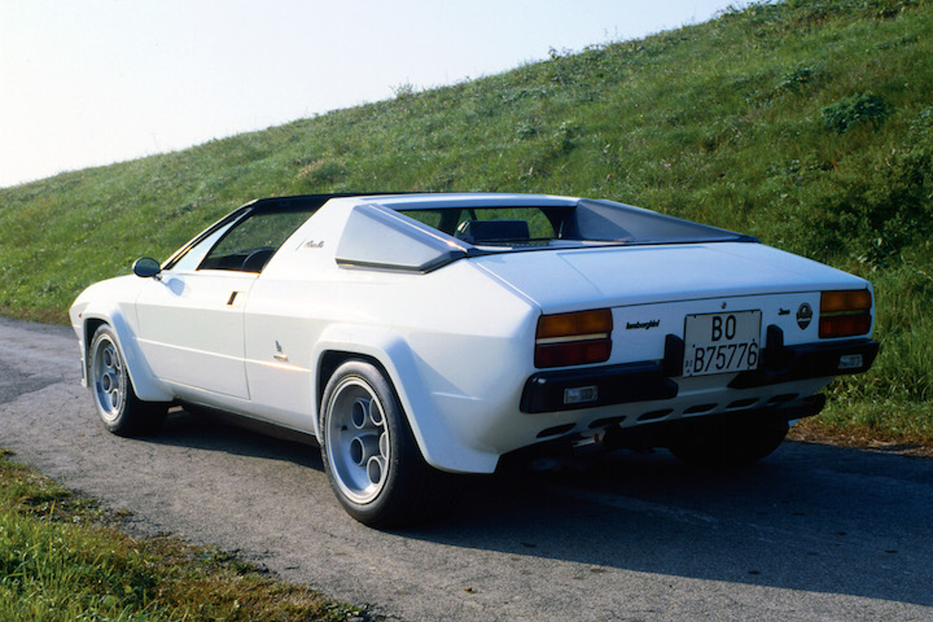 The 1970s Beauty of The Lamborghini Silhouette