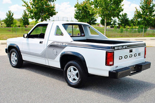 Rare 1989 Shelby Dakota is a 25,000 Mile Survivor