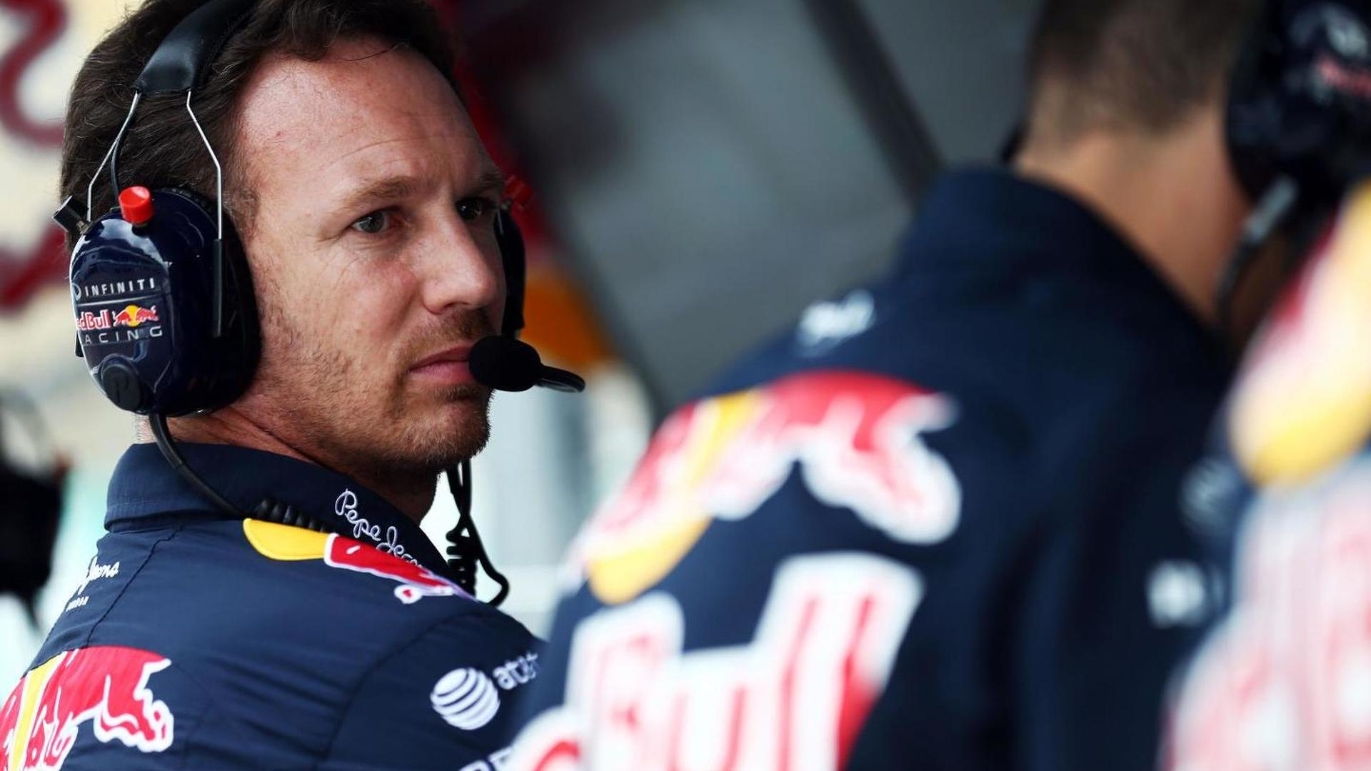 Horner plays down Red Bull quit threat