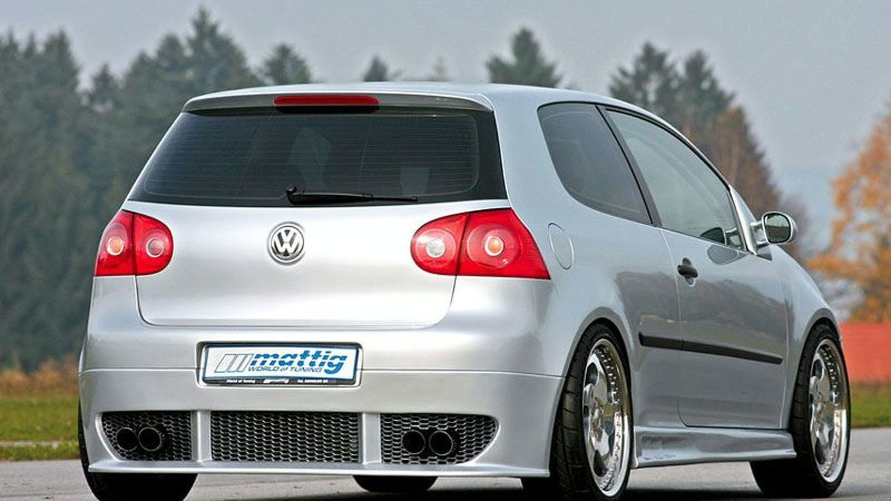 VW Golf V in Mattig design
