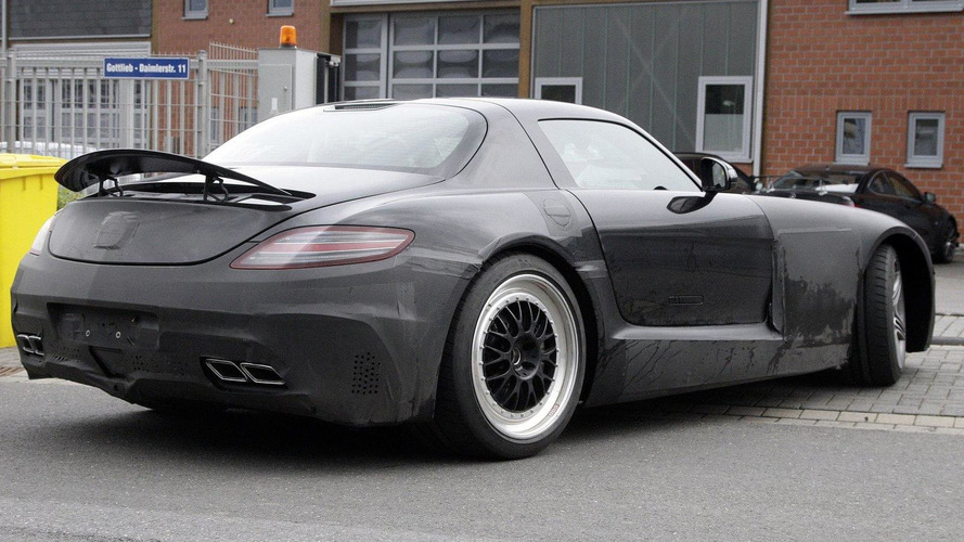 Mercedes SLS Black Series spied - not SLC