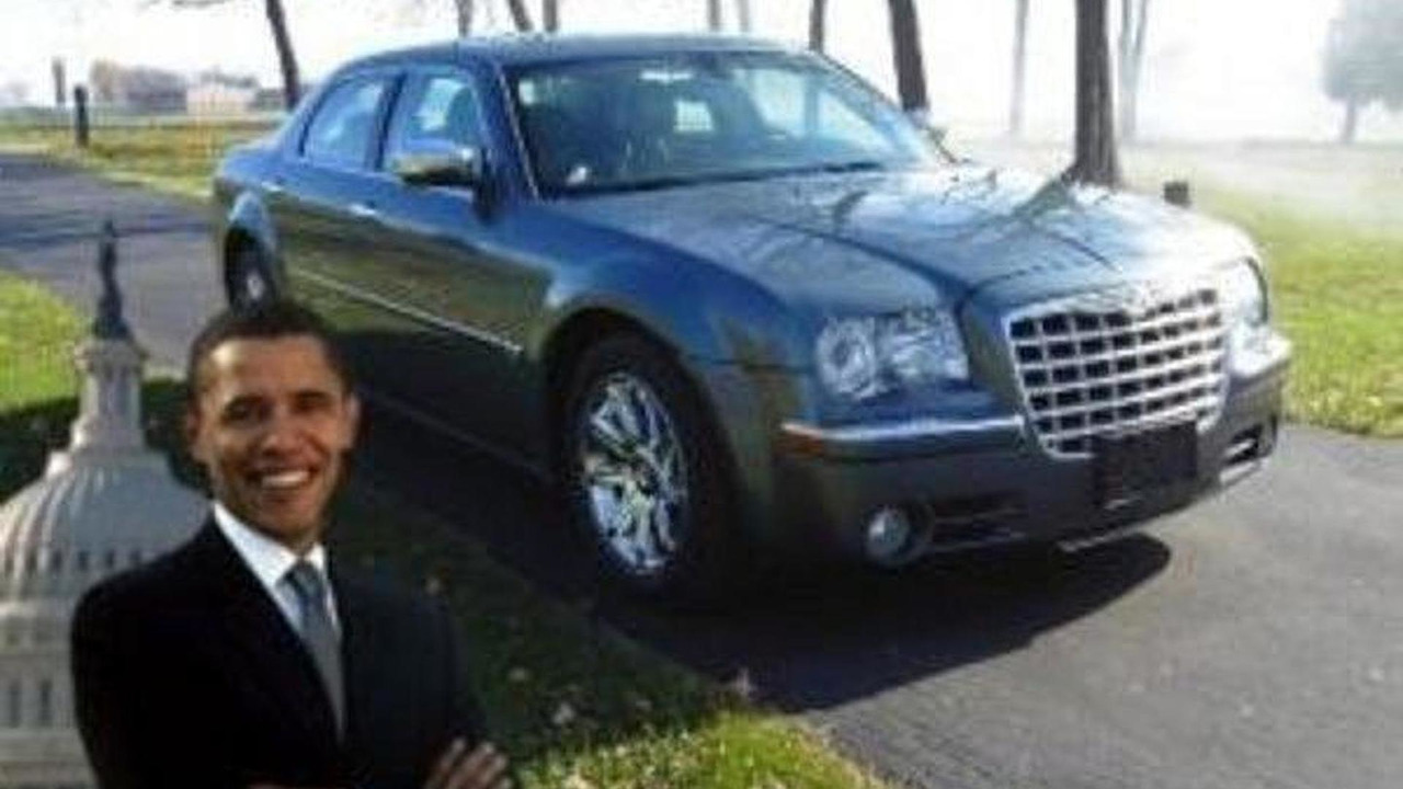 President Obama's Chrysler 300 for sale on eBay, 600, 26.01.2012