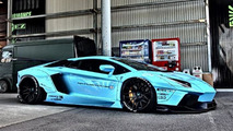 Liberty Walk Lamborghini Aventador first images released