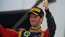 Grosjean rescues career with Nurburgring podium