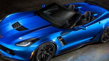 Chevrolet Corvette Z06 Convertible leaked photo
