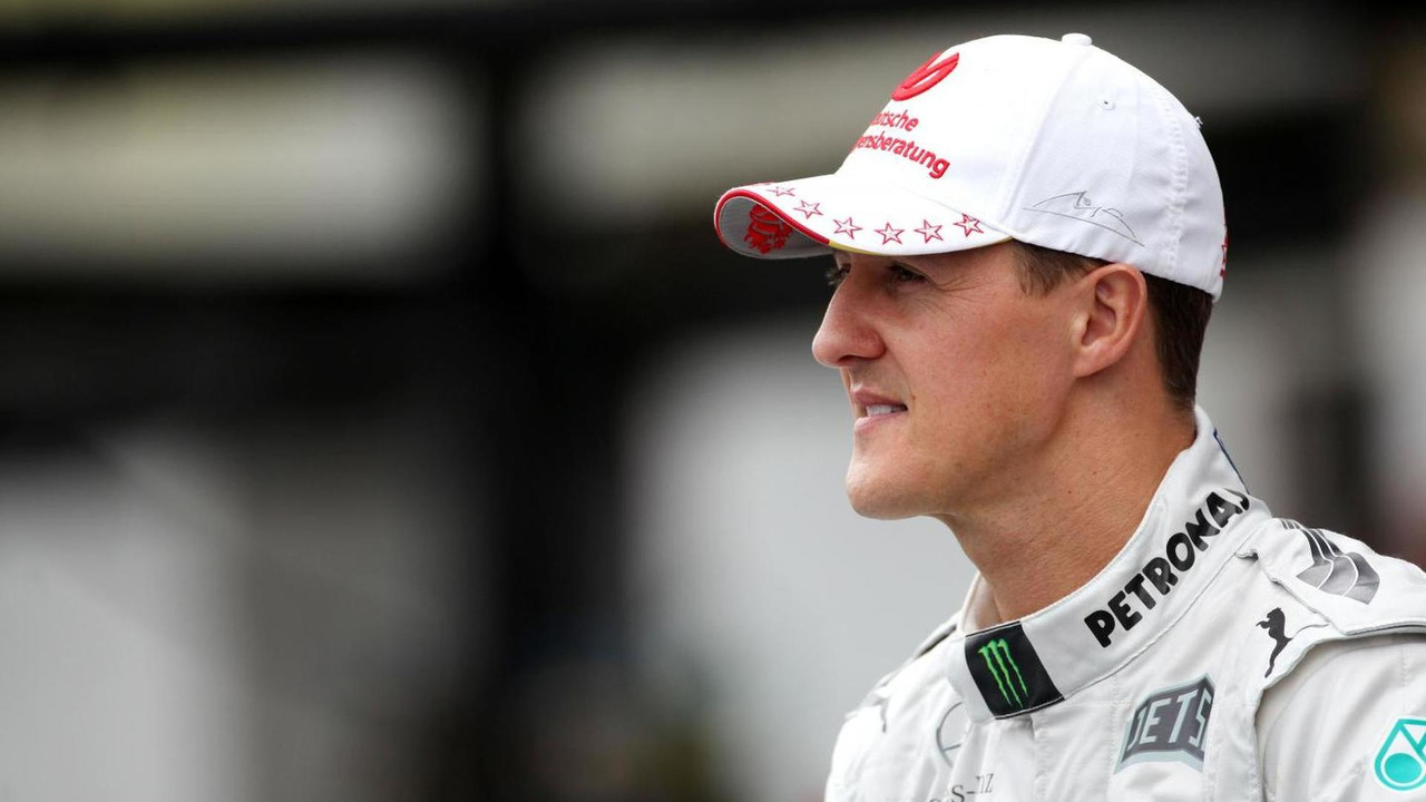 Michael Schumacher 25.11.2012 Brazilian Grand Prix