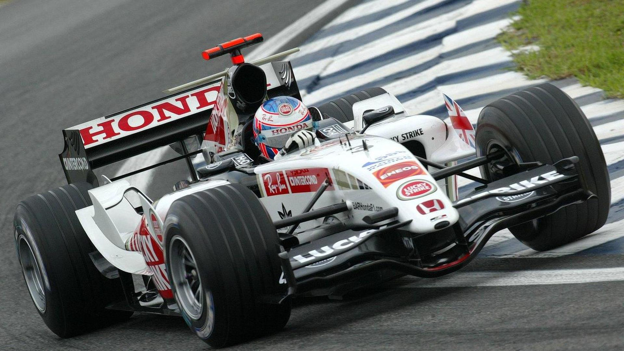 Jenson Button, BAR Honda, Brazilian Grand Prix, 23.09.2005