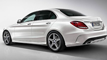 2014 Mercedes-Benz C-Class AMG Line photos and details released