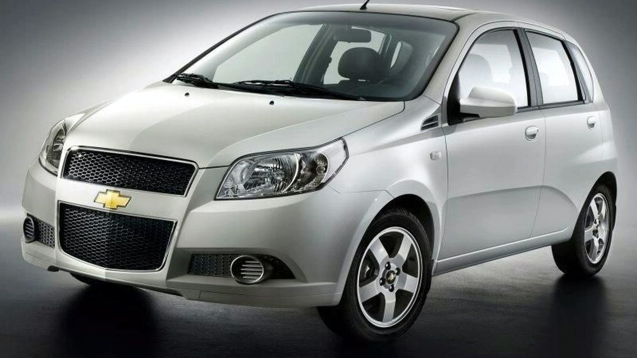 New Chevrolet Aveo hatchback