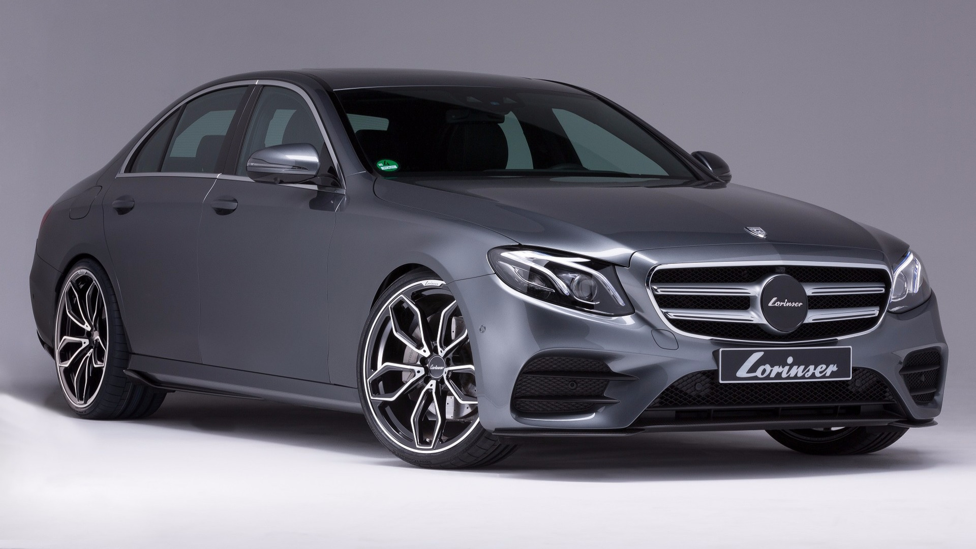 Lorinser gives the 2017 mercedes e class a makeover for Mercedes benz e class amg 2017