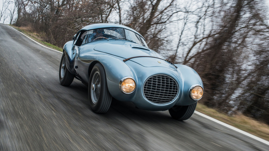 Unusual and unique egg-shaped Ferrari heading to auction