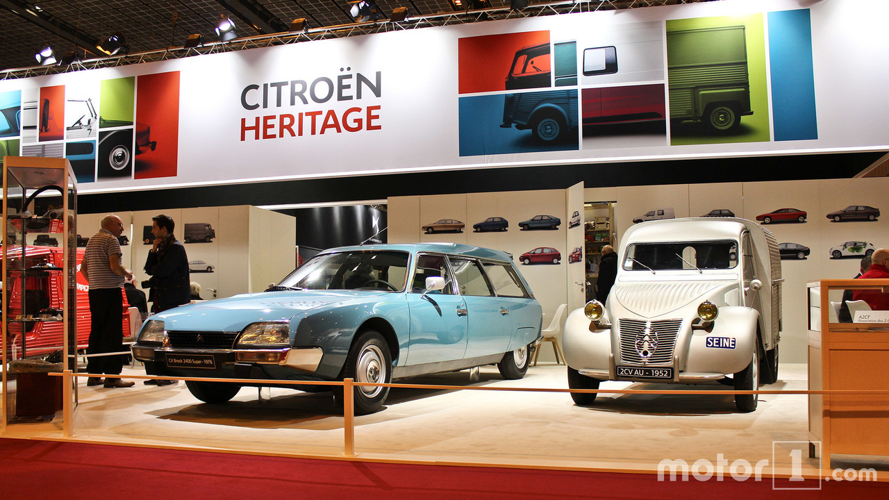 Citroën et DS au Salon Rétromobile 2017
