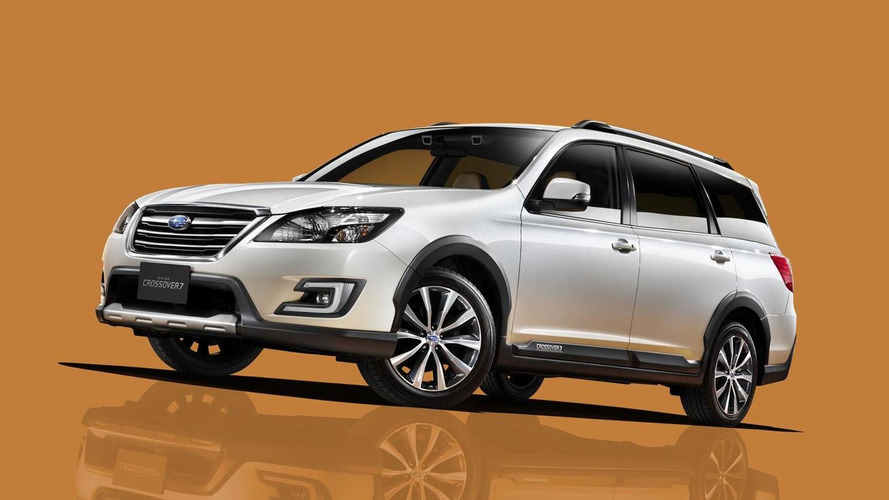 Subaru Exiga Crossover 7 unveiled in Japan