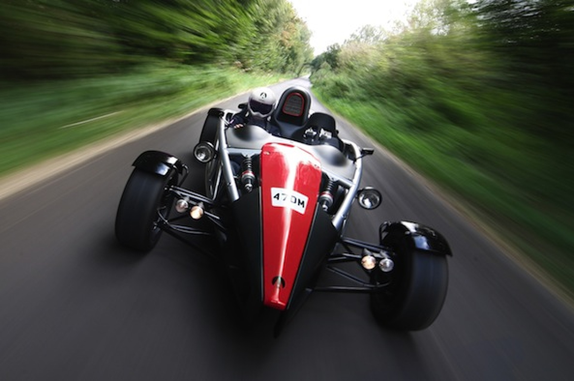 Ariel Atom Stripping Down with Titanium Chassis