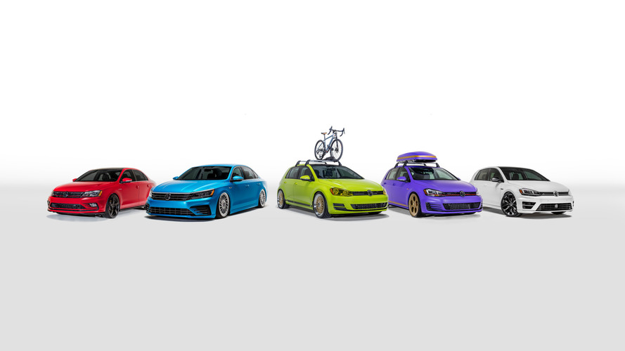 Volkswagen unveils five custom cars to celebrate summer