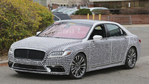 2017 Lincoln Continental shakes off some camo
