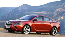 Opel Insignia facelift rendered