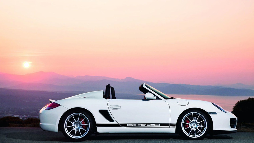 New Porsche Boxster Spyder Photos Released