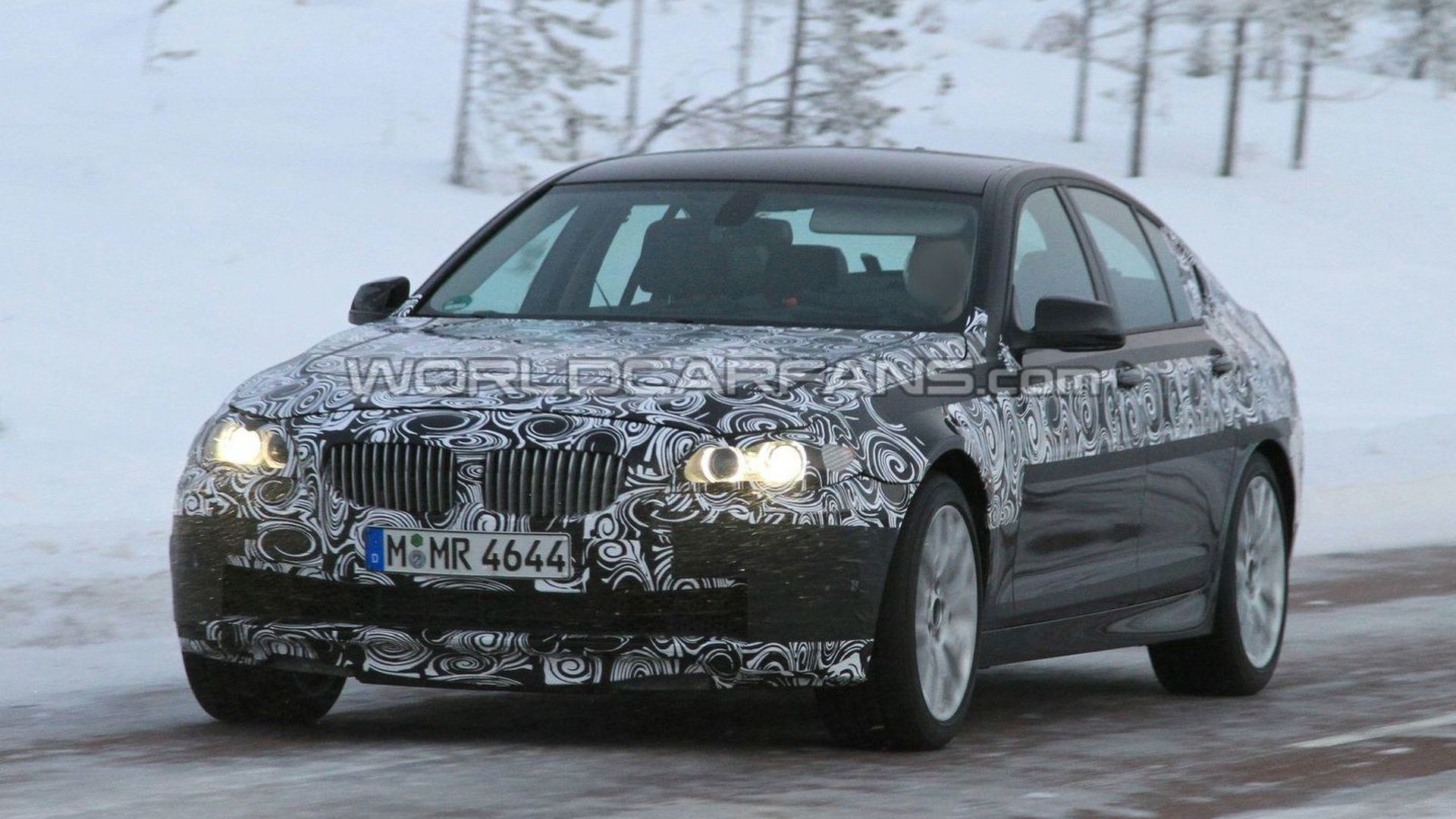 New M5 teaser vid - 2012 BMW F10 M5 in a snowy landscape [video]