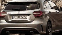2013 Mercedes A-Class leaked image reveals rear end