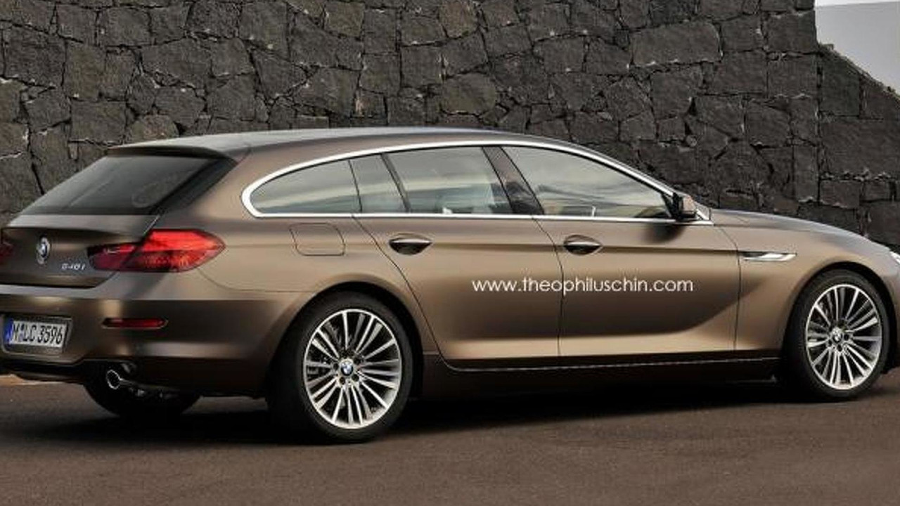 BMW 6-Series Gran Touring rendering 03.7.2012