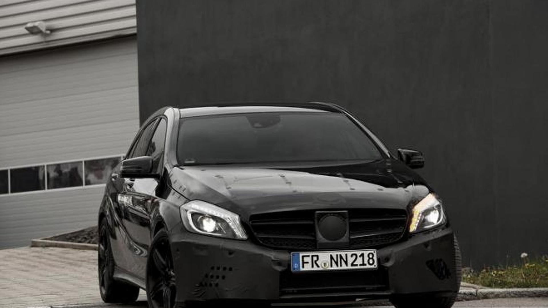 Mercedes A45 AMG first details and photos teased - Black Series hinted?