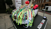 Vauxhall Adam art cars unveiled in London [video]