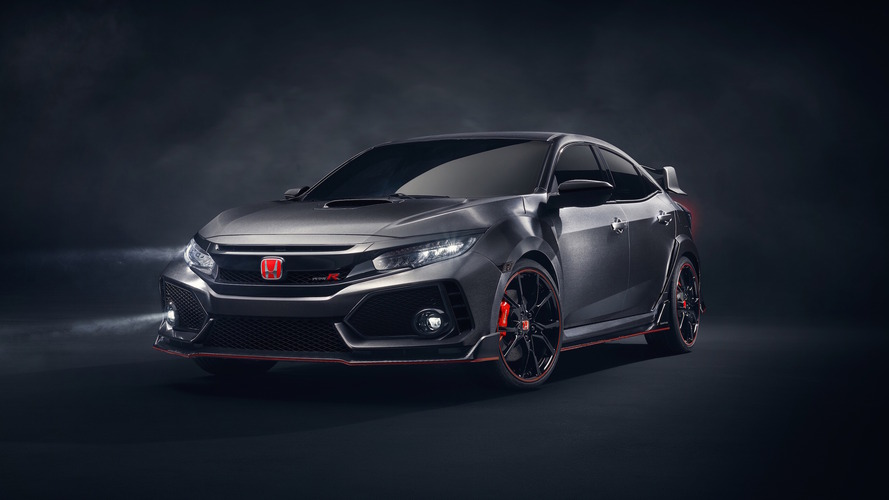 Honda Civic Type R Prototype debuts in Paris, coming to U.S.