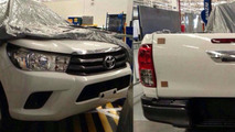 New Toyota Hilux partially revealed in spy photos