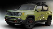 Mopar tricks out two Jeep Renegades for NAIAS