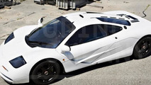 Unique McLaren F1 with Marlboro White paint will be auctioned, expected to fetch 12-14M USD