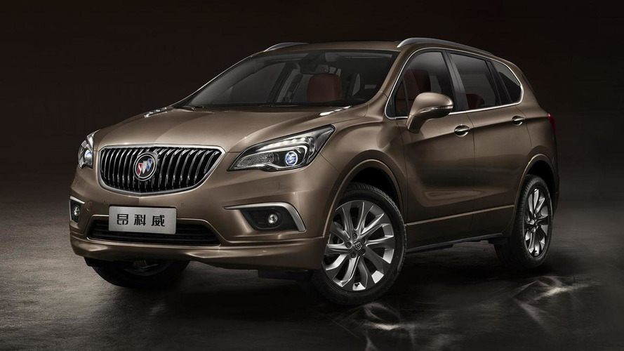 Buick Envision confirmed for U.S., will arrive next summer