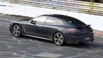 2014 Porsche Panamera hits the Ring undisguised